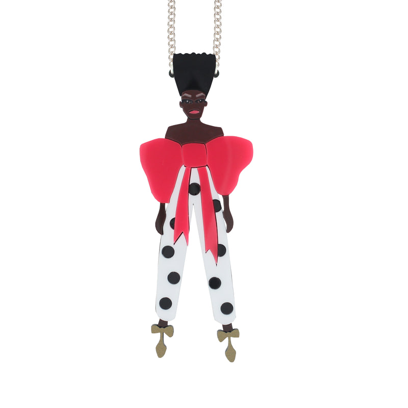 Yvie doll necklace
