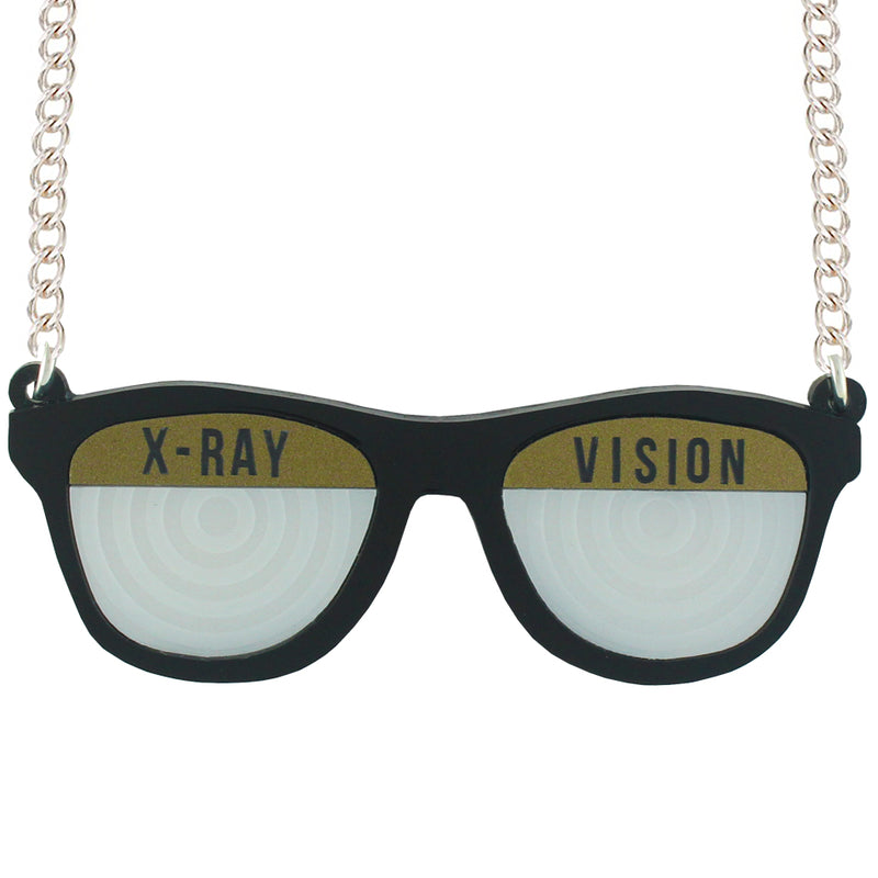 X-Ray Spex necklace