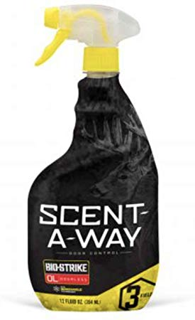 Scent-A-Way Bio-Strike Odorless Spray