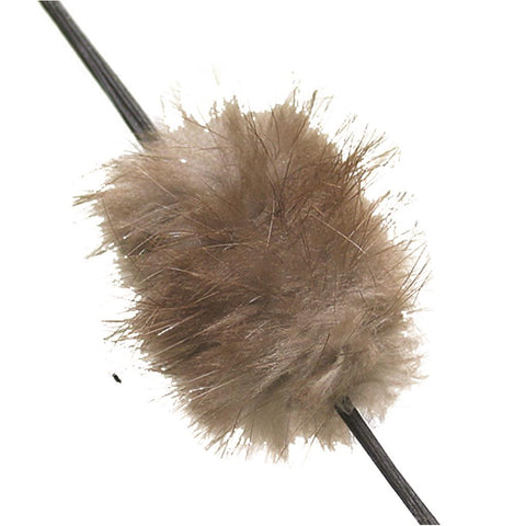 Mountain Man Furs Beaver Balls, Brown
