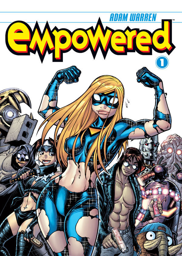 Empowered Vol.1 from Empowered - Webcomic Merchandise