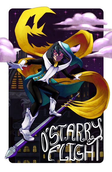 The Shufflers - O' Starry Flight Print from Shufflers - Webcomic Merchandise