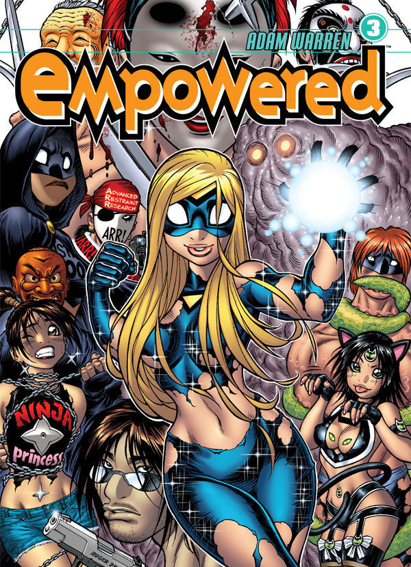 Empowered Vol.3 from Empowered - Webcomic Merchandise