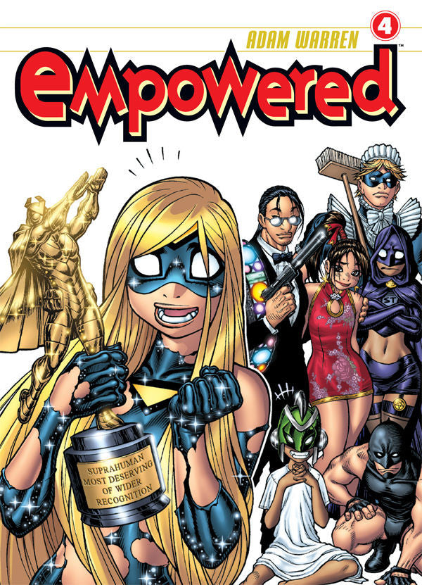 Empowered Vol.4 from Empowered - Webcomic Merchandise