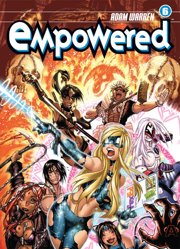 Empowered Vol.6 from Empowered - Webcomic Merchandise
