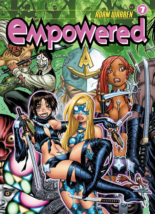 Empowered Vol.7 from Empowered - Webcomic Merchandise