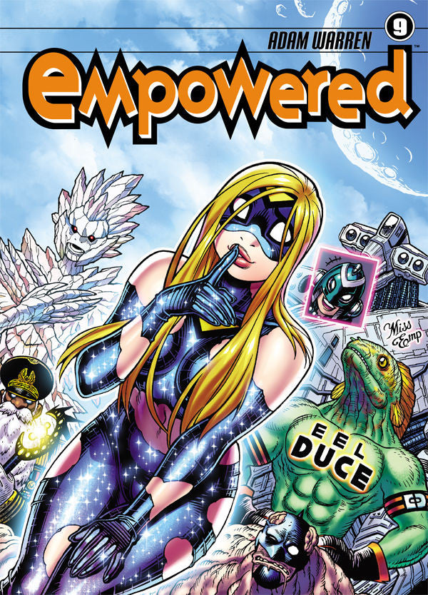 Empowered Vol.9 from Empowered - Webcomic Merchandise