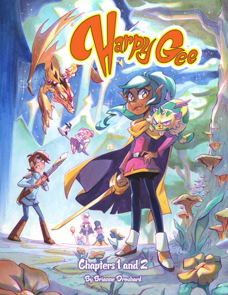 Harpy Gee Volume 1-2 (Combined Edition)
