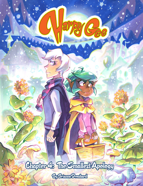 Harpy Gee Volume 4 - The Smallest Apology from Harpy Gee - Webcomic Merchandise