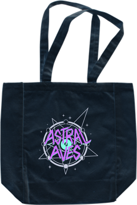 Astral Aves Logo Bag from Astral Aves - Webcomic Merchandise