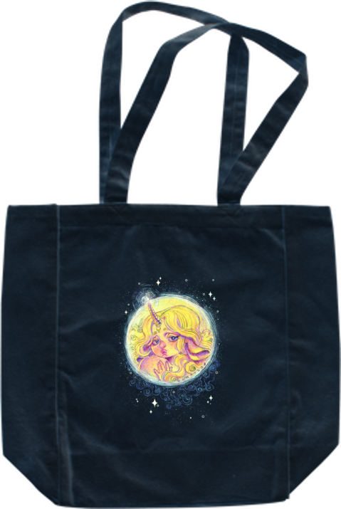 Unimoon Tote from Gunkiss - Webcomic Merchandise