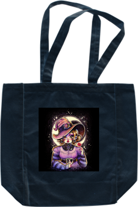 Witchy Tote from Gunkiss - Webcomic Merchandise