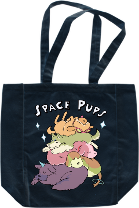 Space Pups Tote from StarHammer - Webcomic Merchandise