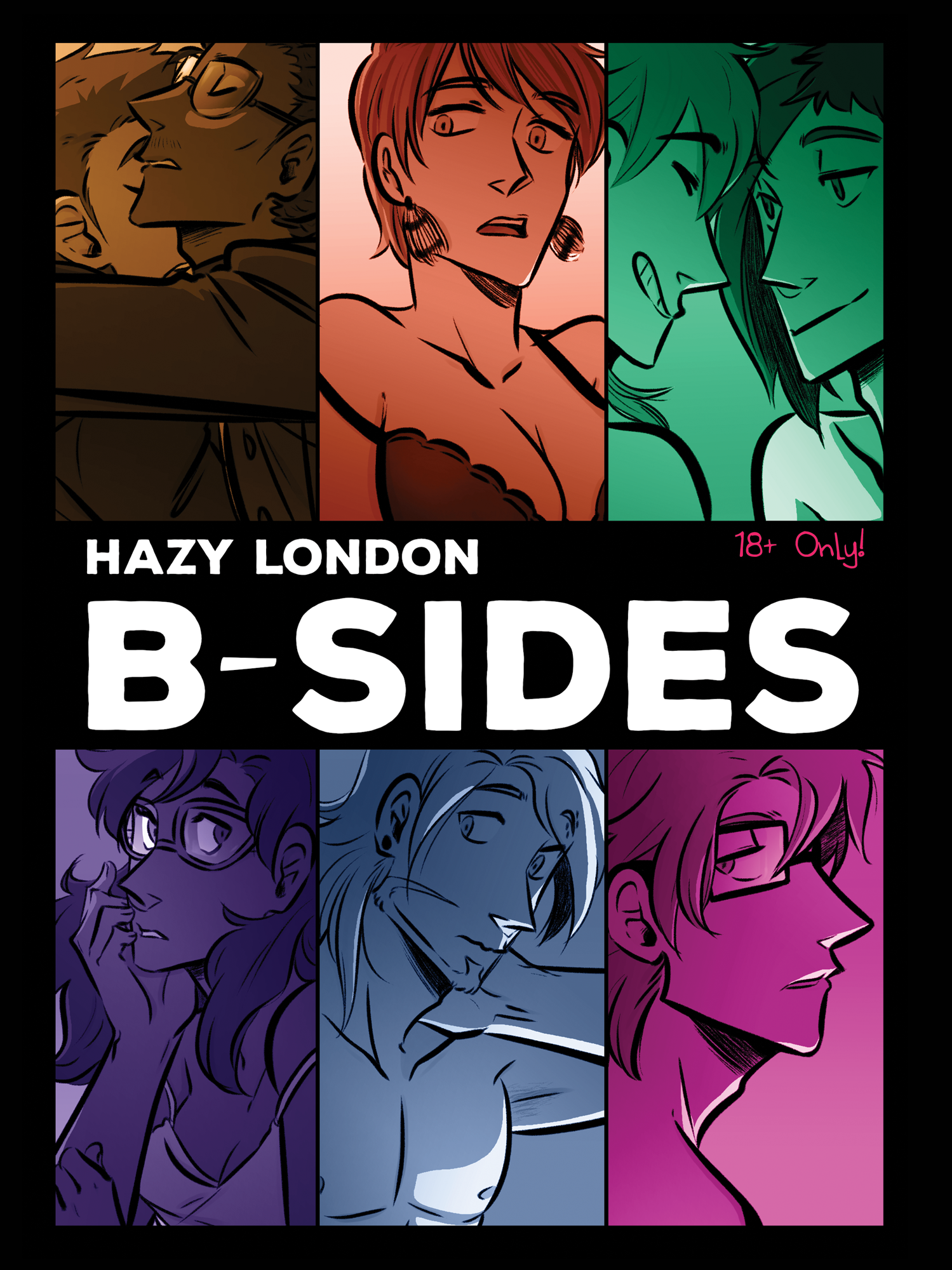 Hazy London B-Sides from Crystal Jayme (Scotty) - Webcomic Merchandise