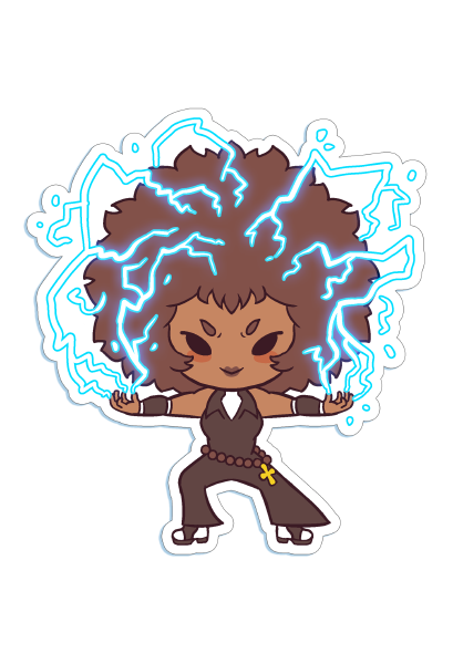 Die-cut Chibi Jackson Sticker