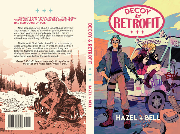 Decoy and Retrofit from Sparkler - Webcomic Merchandise