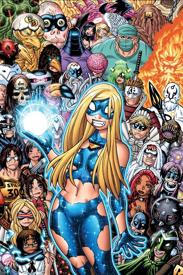 Empowered - Deluxe #2 print from Empowered - Webcomic Merchandise