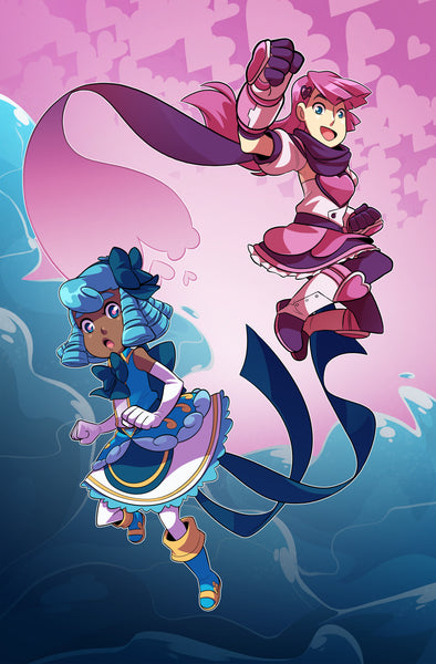 Undine and Heartful Punch from Sleepless Domain - Webcomic Merchandise