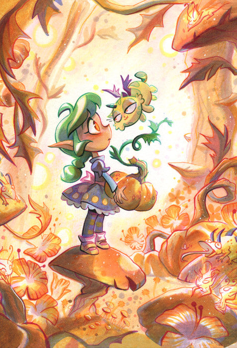 Harpy Gee - First Friend print from Harpy Gee - Webcomic Merchandise