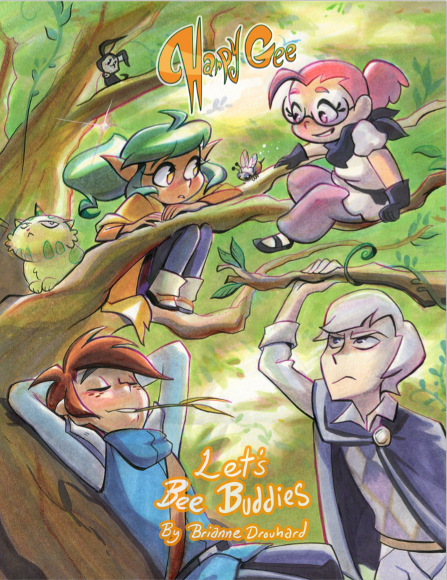 Harpy Gee - Volume 3 from Harpy Gee - Webcomic Merchandise