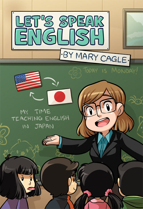 Let's Speak English from Mary Cagle - Webcomic Merchandise