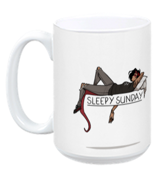 Speak of the Devil - Sleepy Sunday from M. Lee Lunsford - Webcomic Merchandise