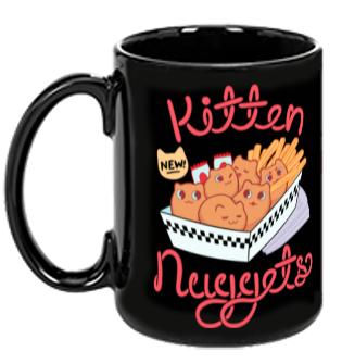 Kitten Nuggets mug from The Weave - Webcomic Merchandise