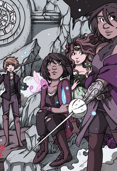 Namesake - Ladies of the Ruins print from Namesake - Webcomic Merchandise