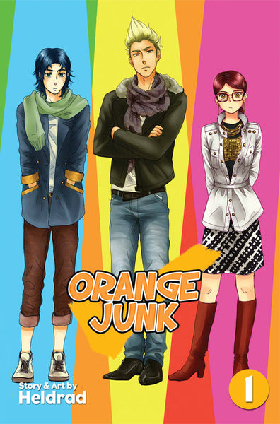 Orange Junk - Volume 1 from Sparkler - Webcomic Merchandise
