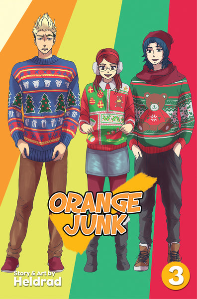 Orange Junk - Volume 3 from Sparkler - Webcomic Merchandise