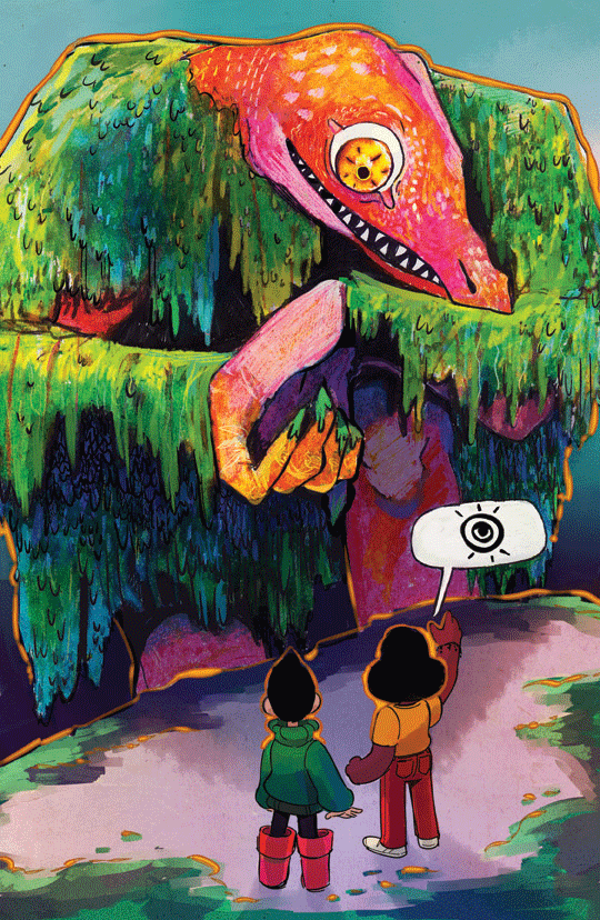 Demon Street - Page 35 print from Demon Street - Webcomic Merchandise