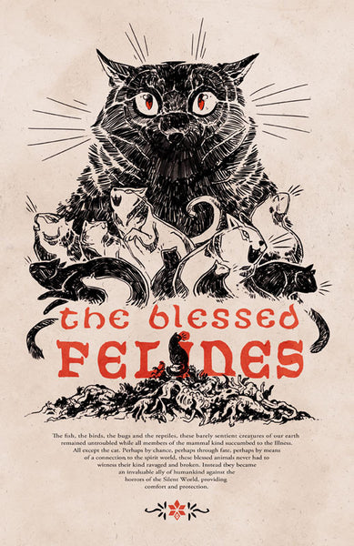 Stand Still. Stay Silent - The Blessed Felines print from Stand Still Stay Silent - Webcomic Merchandise