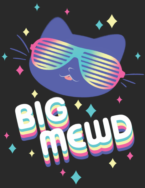 Big Mewd from The Weave - Webcomic Merchandise