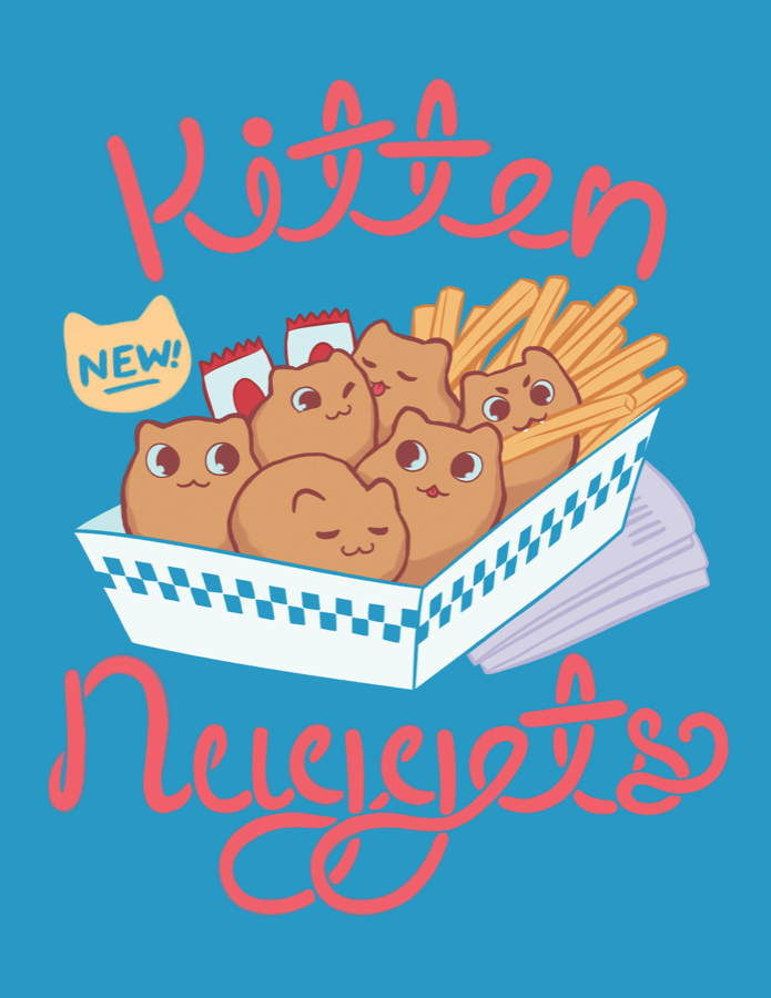 Kitten Nuggets from The Weave - Webcomic Merchandise