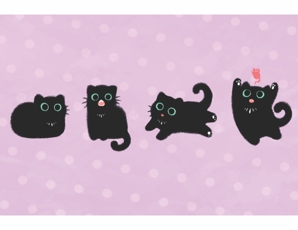 Kitten Party from The Weave - Webcomic Merchandise