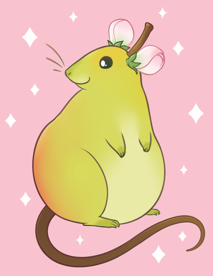 Ratlett Pear from The Weave - Webcomic Merchandise
