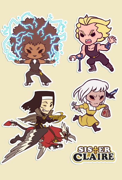 Jackson and Co. Sticker Sheet