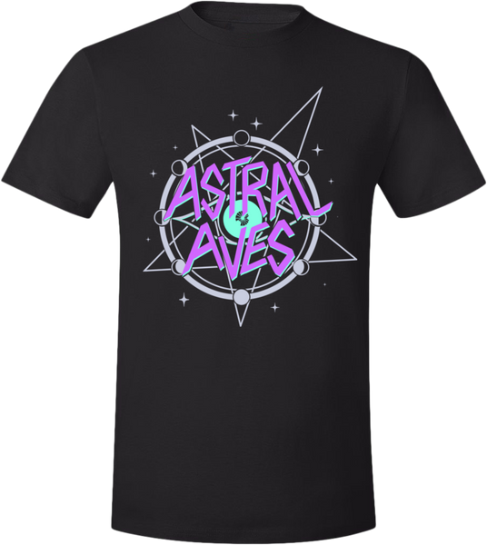 Astral Aves Logo Tee (Unisex) from Astral Aves - Webcomic Merchandise