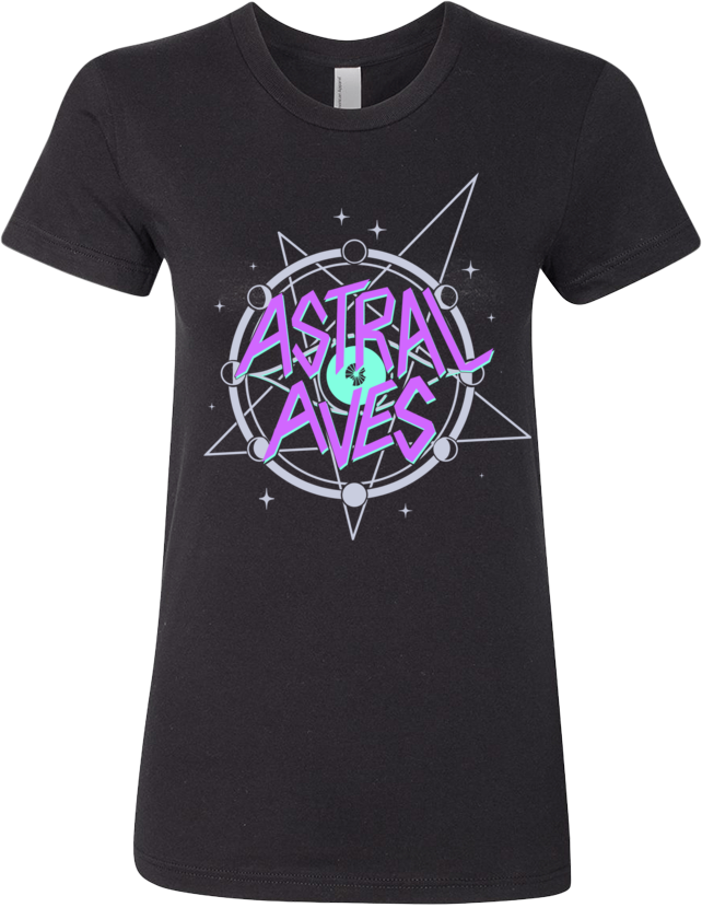 Astral Aves Logo Tee (Women's) from Astral Aves - Webcomic Merchandise