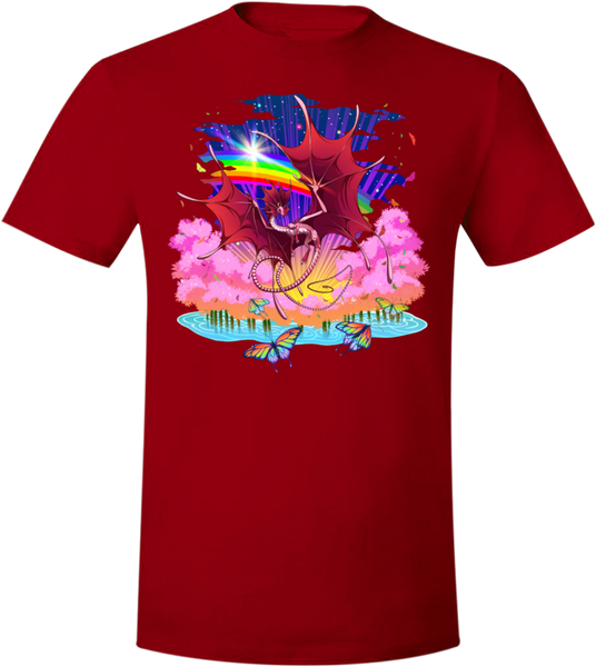 Back to School Fae Tee (Unisex) from Flight Rising - Webcomic Merchandise