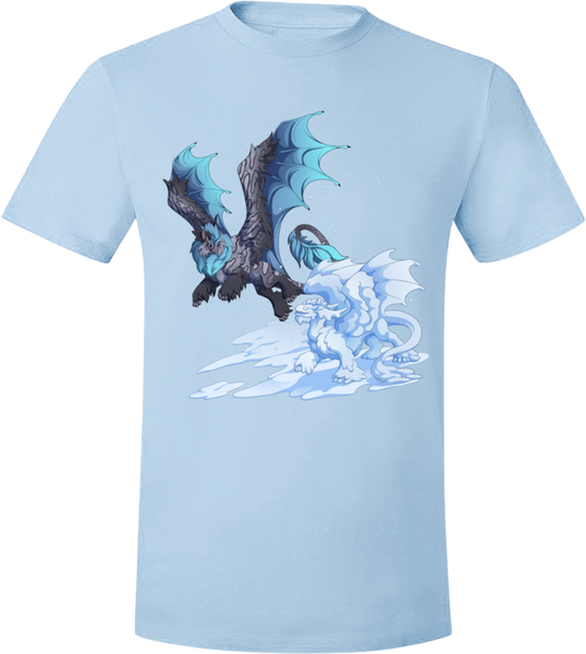 Snow Day Tee (Unisex) from Flight Rising - Webcomic Merchandise