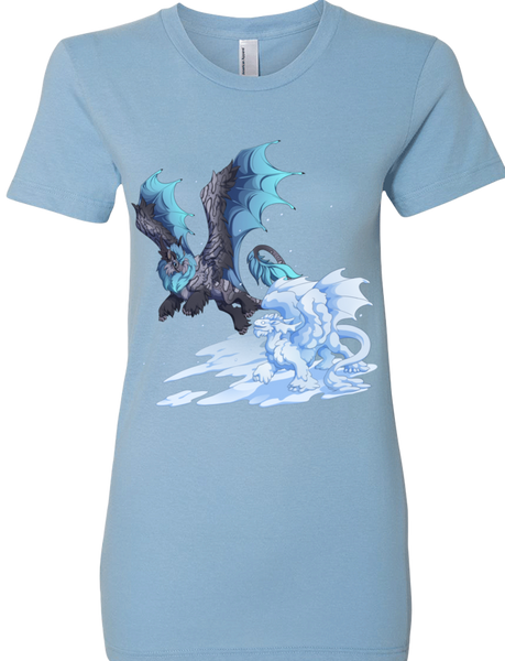 Snow Day Tee (Women's) from Flight Rising - Webcomic Merchandise