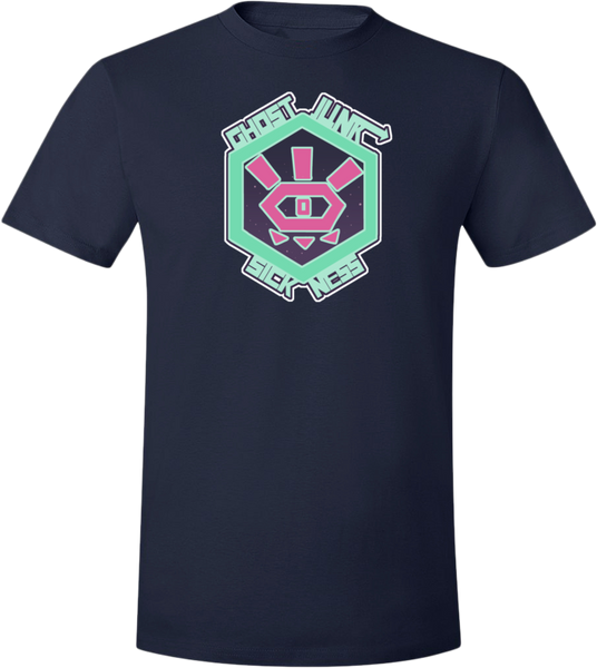 Medium Mark Tee from Ghost Junk Sickness - Webcomic Merchandise