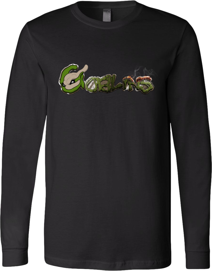 Goblins on Fire Long-Sleeve Tee from Goblins - Webcomic Merchandise