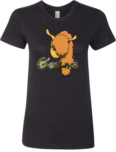 Saves a Fox Tee (Women's) from Goblins - Webcomic Merchandise