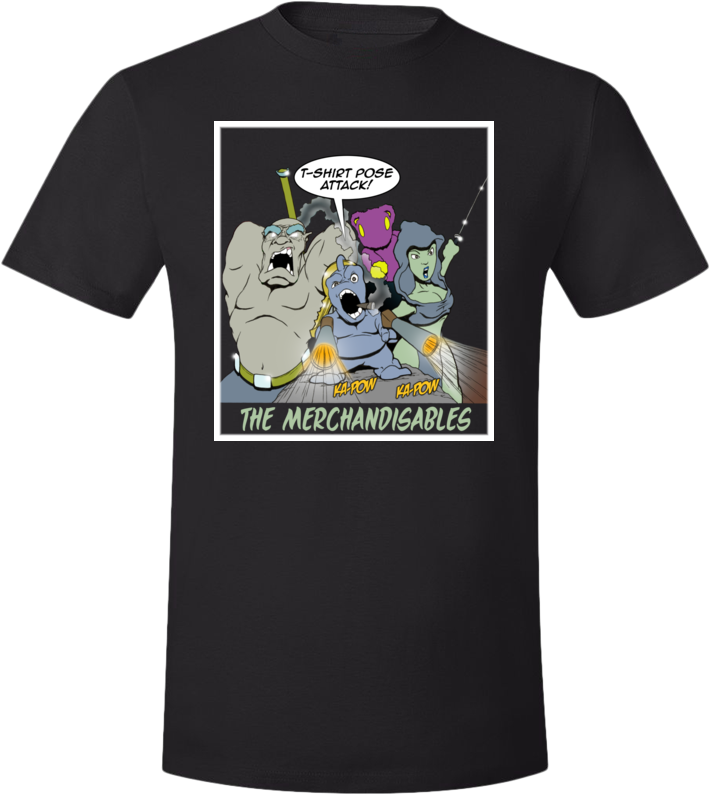The Merchandisables Tee (Unisex) from Goblins - Webcomic Merchandise