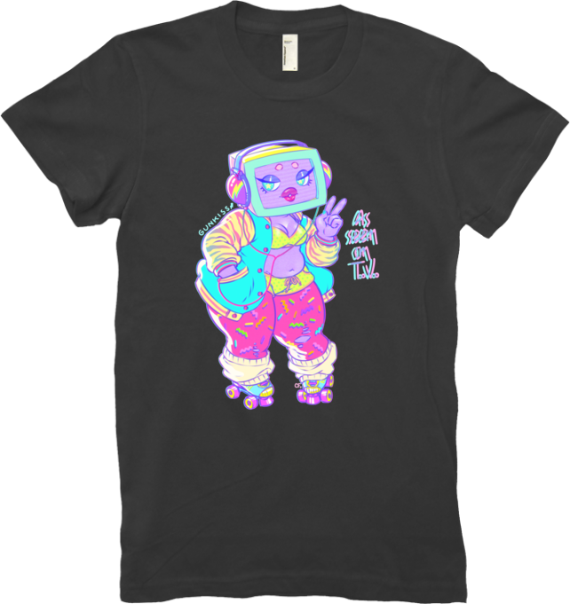 As Seen On TV Tee (Women's) from Gunkiss - Webcomic Merchandise