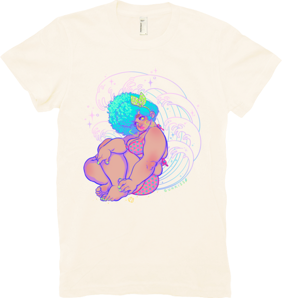 Breeze Human Tee (Women's) from Gunkiss - Webcomic Merchandise