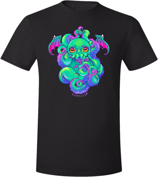 Cthulhu Tee (Unisex) from Gunkiss - Webcomic Merchandise