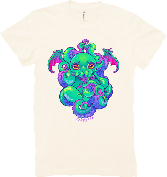 Cthulhu Tee (Women's) from Gunkiss - Webcomic Merchandise